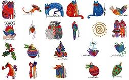 Brother/Babylock Embroidery Machine Card Laurel Burch Holida