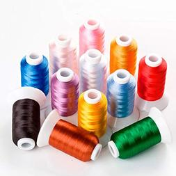 New Brother Colors Series Computer Embroidery Thread Filamen