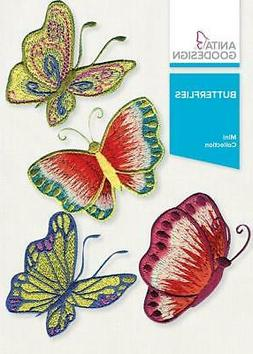 Butterflies Anita Goodesign Embroidery Machine Design CD