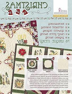 Anita Goodesign CHRISTMAS 1 2 3 Special Edition Embroidery M