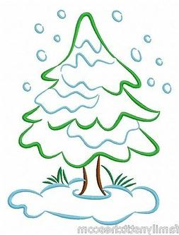 Color Outline Winter Time 10 Machine Embroidery Designs on C