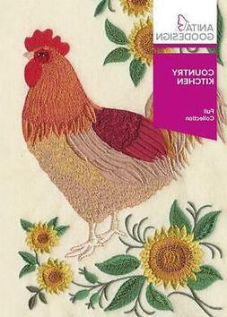 Country Kitchen Anita Goodesign Embroidery Machine Design CD
