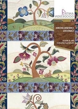 Crewelwork Canvas Anita Goodesign Embroidery Design Machine