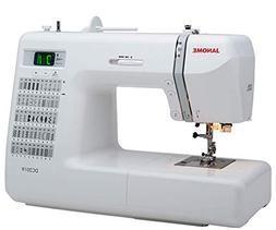 Janome DC2019 Sewing Machine Bundle with Purple Tote, bobbin