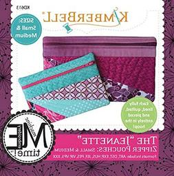 Kimberbell Designs The Jeanette Zipper Pouches Small and Med