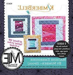 Kimberbell Designs Machine Embroider by Number Spool with Em