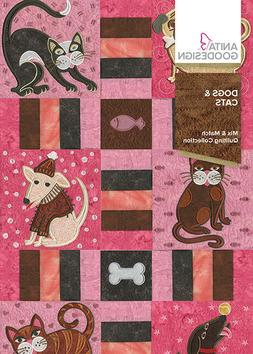 Anita Goodesign Dogs & Cats Embroidery Machine Design CD NEW