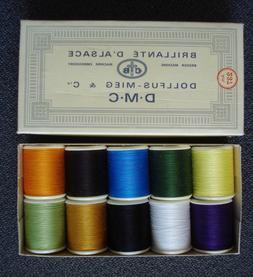Dollfus-Mieg DMC Brillante D'Alsace Cotton Machine Embroider