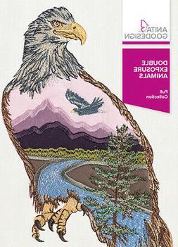 Anita Goodesign Double Exposure Animals Embroidery Machine D