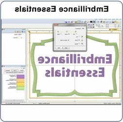 Embrilliance Essentials Software & Embroidery Machine Suppli