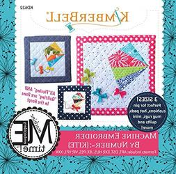 Kimberbell Embroider by Number: Kite Machine Embroidery CD K