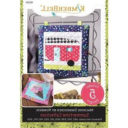 KIMBERBELL EMBROIDER BY NUMBER SUMMERTIME COLLECTION MACHINE