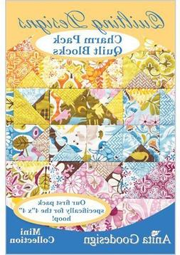 Anita Goodesign Embroidery Cd Charm Pack Quilt Blocks
