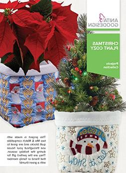 Anita Goodesign Embroidery Designs Christmas Plant Cozy