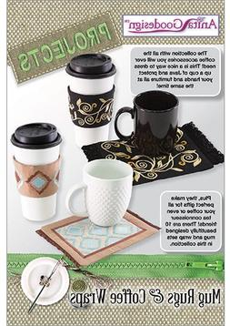 Anita Goodesign Embroidery Designs Projects Mug Rugs & Coffe