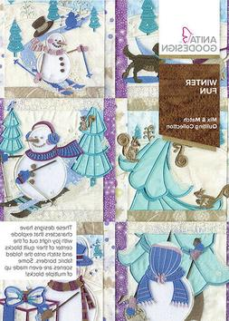 Anita Goodesign Embroidery Designs Winter Fun