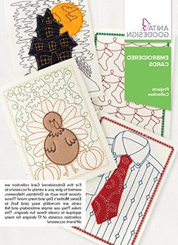 Anita Goodesign Embroidery Designs - Embroidered Cards
