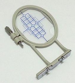 ThreadNanny 2-inch x 1 1/2 inch Small Embroidery Hoop w/ Pla