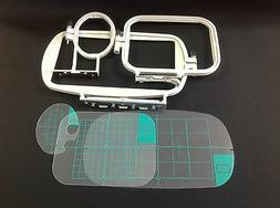 Embroidery Hoop Set for Brother SE400 SE425 PE500 Machine -