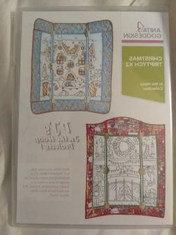 Anita Goodesign Embroidery Machine Design CD Christmas Tript