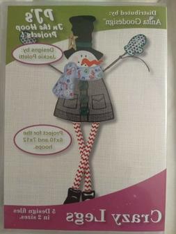 Anita Goodesign Embroidery Machine Design CD Crazy Legs In T