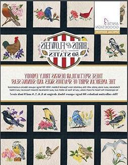 Anita Goodesign Embroidery Machine Designs CD Birds & Flower