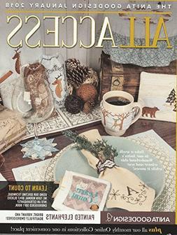 Anita Goodesign Embroidery Machine Designs CD & Book All Acc