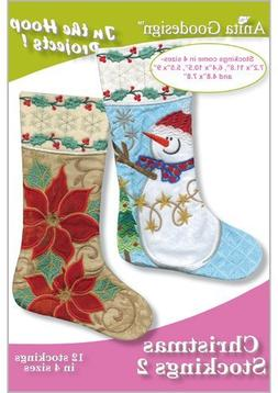 Anita Goodesign Embroidery Machine Designs CD CHRISTMAS STOC