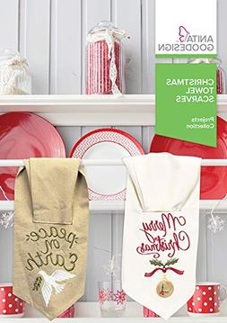 Anita Goodesign Embroidery Machine Designs CD Christmas Towe