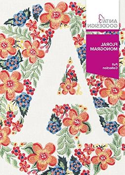 Anita Goodesign Embroidery Machine Designs CD Floral Monogra
