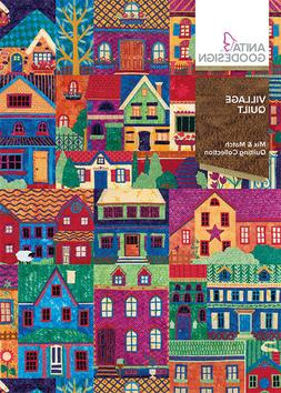 Anita Goodesign Embroidery Machine Designs CD Village Quilt