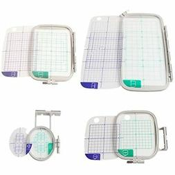 Embroidery Machine Hoop Set Sewing Frame Brother PE-700 PE-7