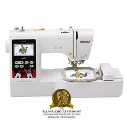 Brother Embroidery Machine, PE550D 125 Built-in Designs, Lar