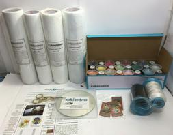 Embroidery Machine Starter Kit - Everything included - Threa