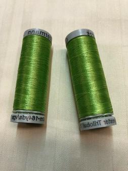 Gutermann Embroidery Thread.  100% Polyester Trilobal