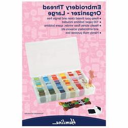 Embroidery Thread Organiser Hemline Floss Box- Large