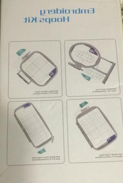 Embroidex 4 Hoops Set For Embroidery Machine