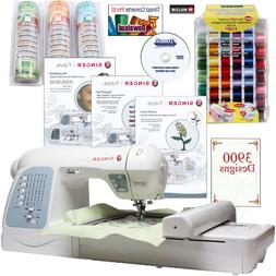 Singer Futura XL-400 4-in-1 Sewing & Embroidery Machine w/ B