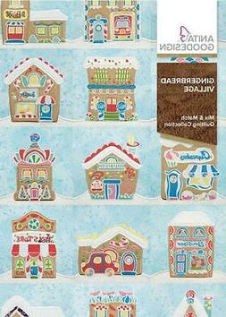 Anita Goodesign GINGERBREAD VILLAGE Embroidery Machine Desig