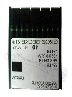 Groz-Beckert 134R Sharps 80/12