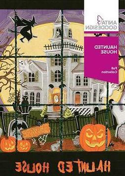 Anita Goodesign Haunted House Embroidery Machine Design CD