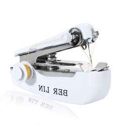 Household Mini Portable Hand-held Clothes Fabric Sewing Mach