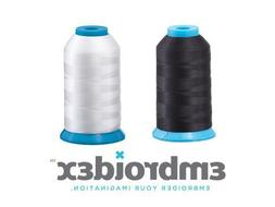 Set of 2 HUGE Bobbin Thread for Sewing And Embroidery Machin