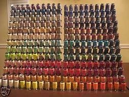 huge lot of 260 spools embroidery machine