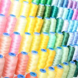 INDIVIDUAL CONES OF POLYESTER MACHINE EMBROIDERY THREAD - 10