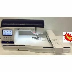"Brother Innov-is BP3500D 6"" x 10"" Embroidery Area Machine On"