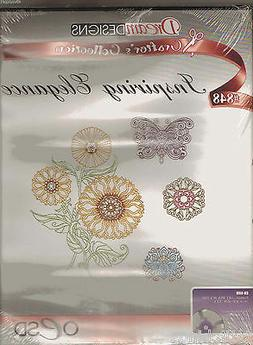 OESD Inspiring Elegance #848 Machine Embroidery Designs CD N
