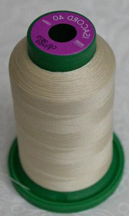 ISACORD 40, Universal Machine Embroidery Thread, 1000m, Colo