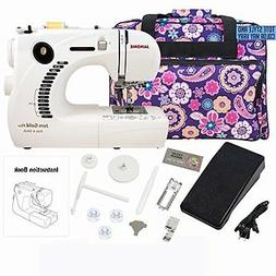 Janome 661G Jem Gold Plus Trim and Stitch Sewing Machine Bun