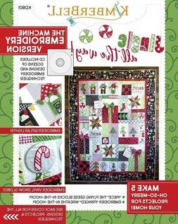 Jingle All the Way!Machine Embroidery Version  book Designs